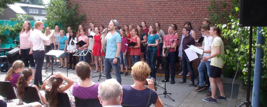 "Der ""Junge Chor Münster"""