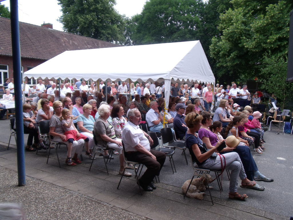 Zuschauer beim Konzert des MGV